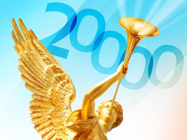 Der 20.000ste Teilnehmer ging heute durch die Anmeldeprozedur