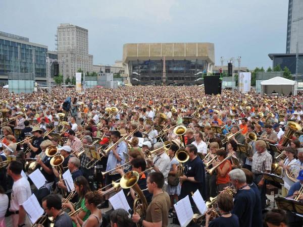 Serenade beim DEPT 2008 in Leipzig